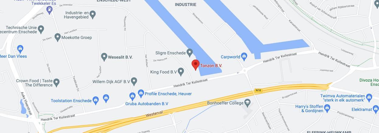 Tonzon locatie maps